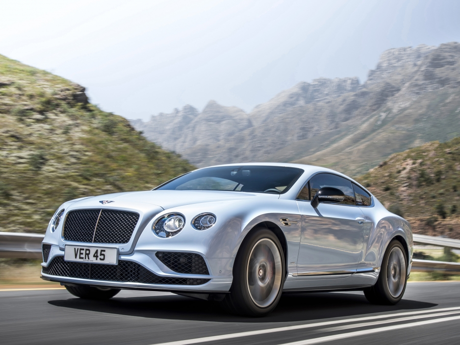 2017 Bentley Continental GT V8 S Convertible photo - 3