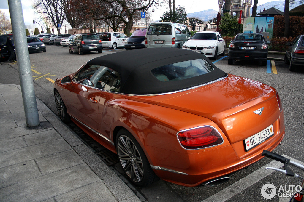 2017 Bentley Continental GTC Speed photo - 3