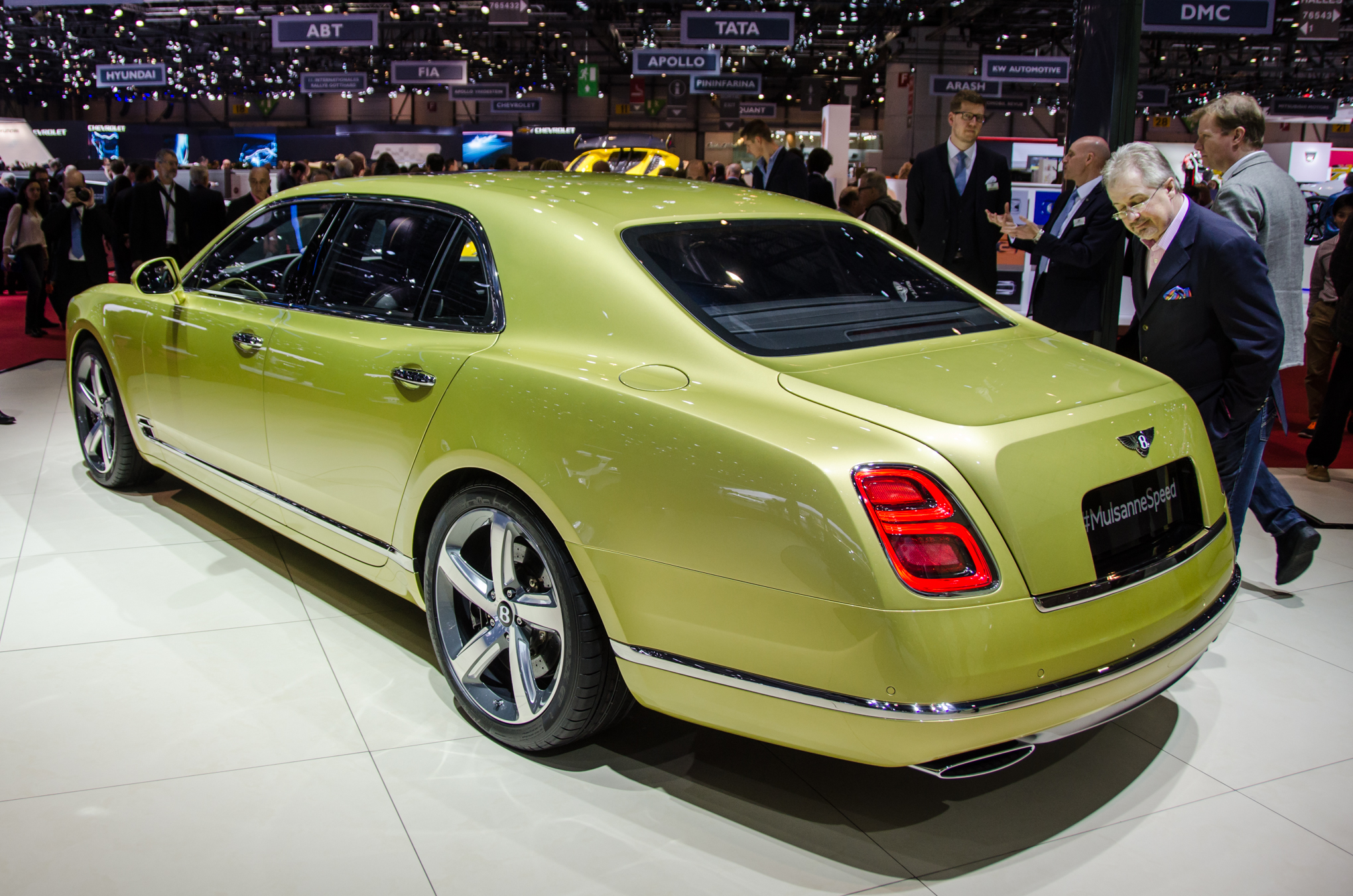 2017 Bentley Mulsanne Speed photo - 3