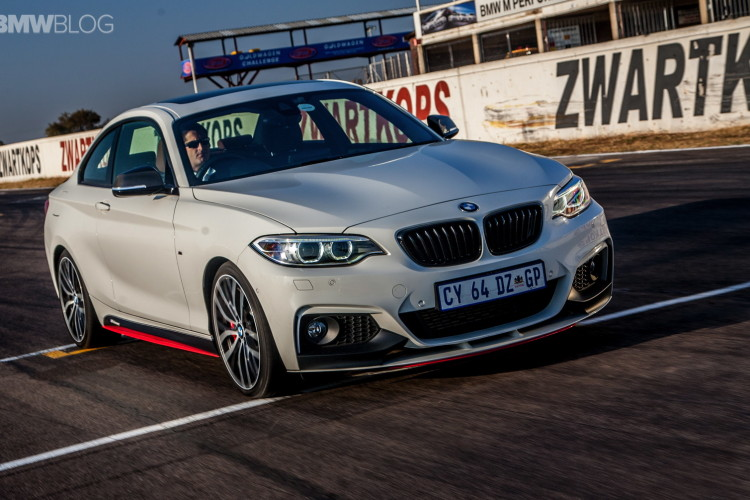 2017 BMW 2 Series Coupe with M Performance Parts photo - 1