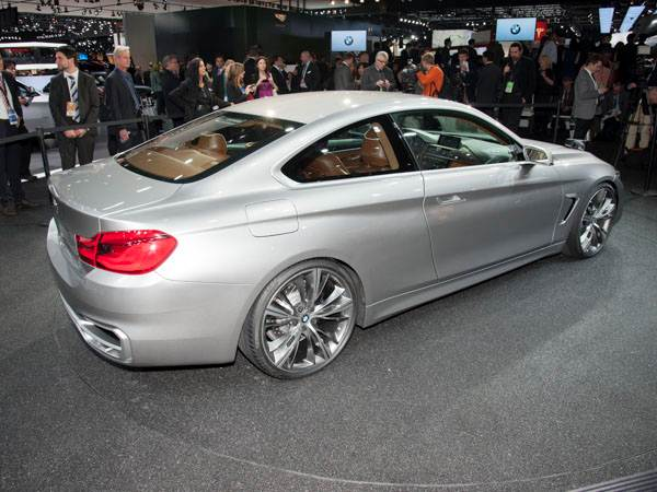 2017 BMW 4 Series Coupe Concept photo - 2
