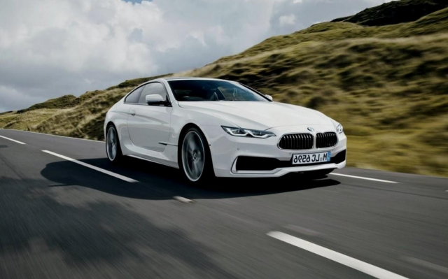2017 BMW 6 Series Coupe Concept photo - 1