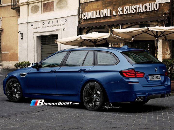 2017 BMW M5 Touring photo - 3