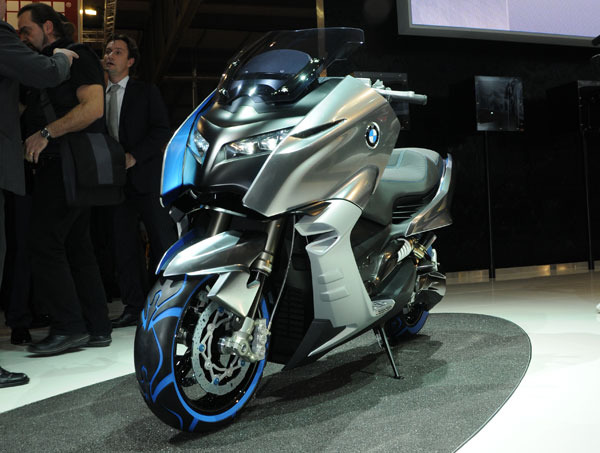 2017 BMW Scooter C Concept photo - 1