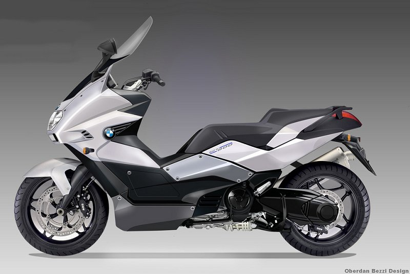 2017 BMW Scooter C Concept photo - 2