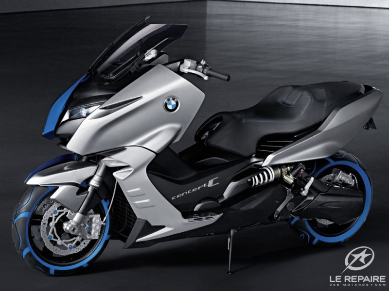 2017 BMW Scooter C Concept photo - 3