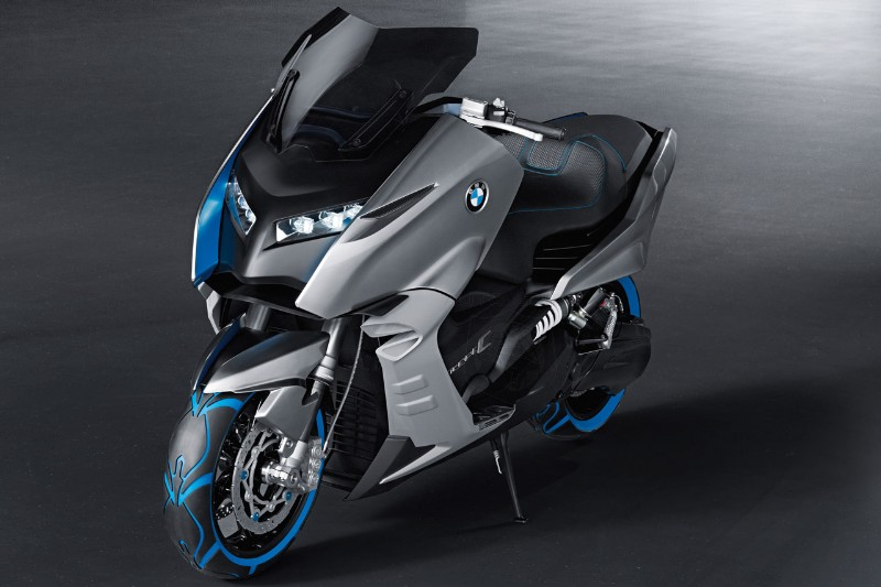 2017 BMW Scooter C Concept photo - 4