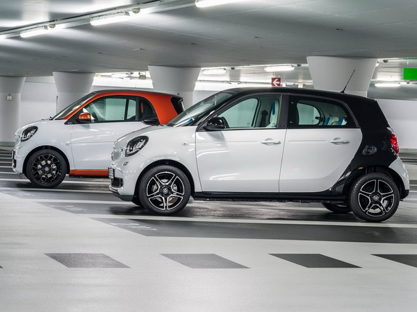 2017 Brabus smart fortwo electric drive photo - 1
