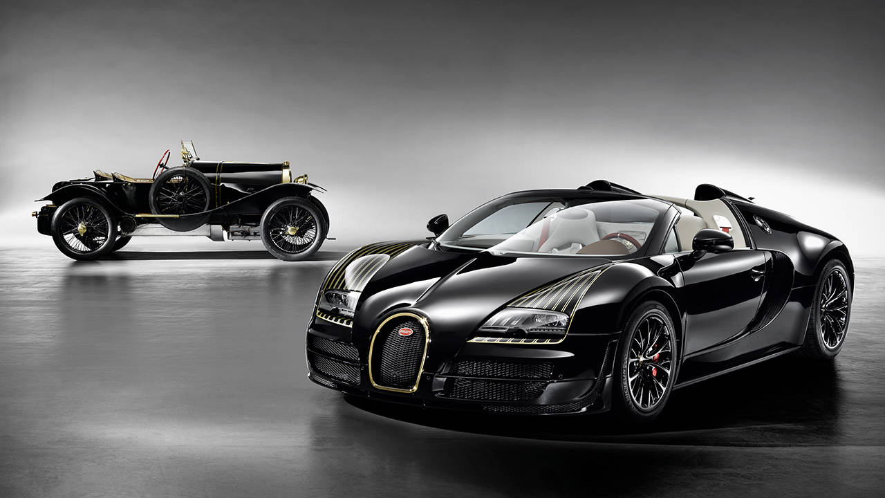 2017 Bugatti Veyron Black Bess photo - 3