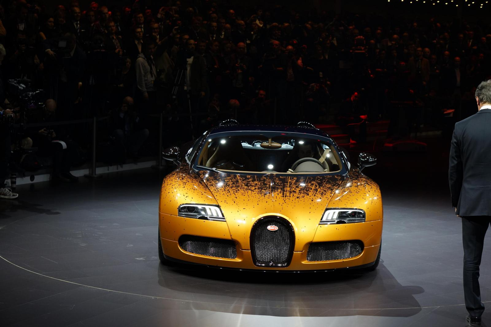 2017 Bugatti Veyron Grand Sport Bernar Venet photo - 1