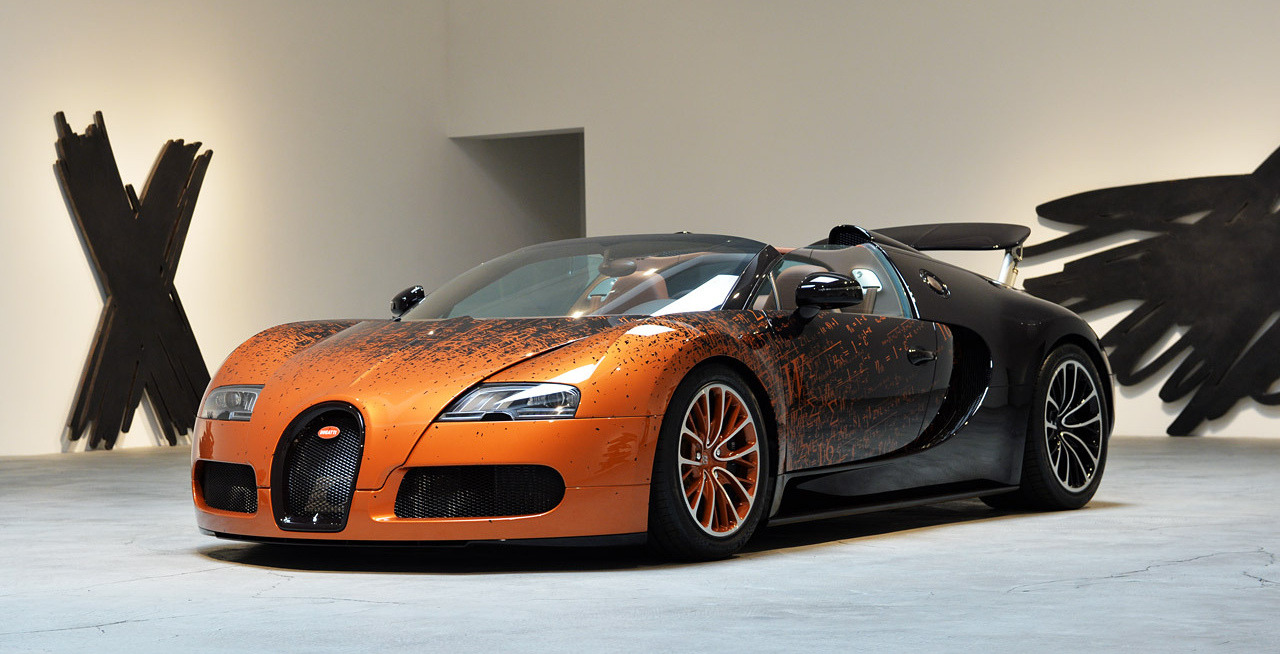 2017 Bugatti Veyron Grand Sport Bernar Venet photo - 4