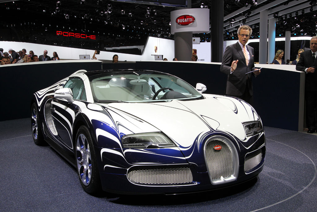 2017 Bugatti Veyron Grand Sport LOr Blanc photo - 2