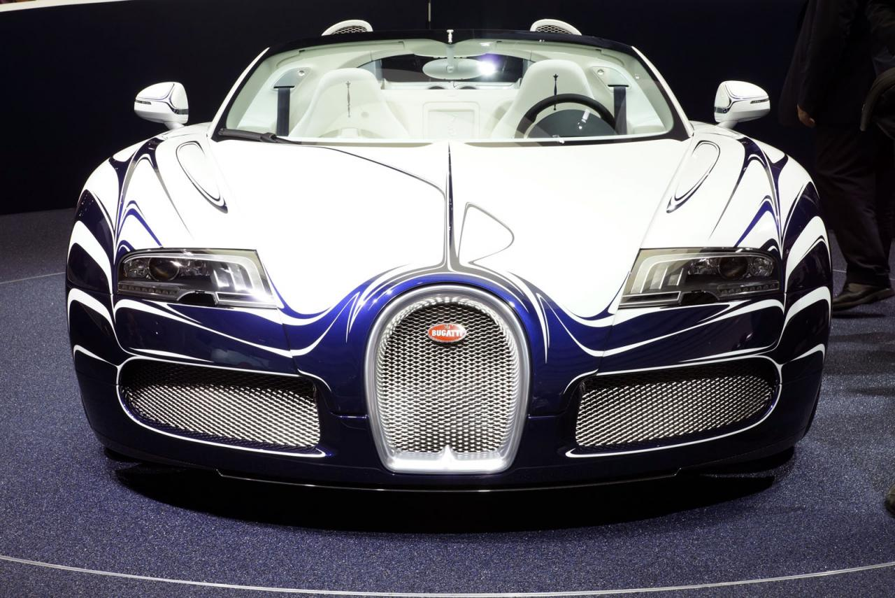 2017 Bugatti Veyron Grand Sport LOr Blanc photo - 4