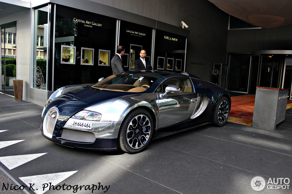 2017 Bugatti Veyron Grand Sport Sang Bleu photo - 2