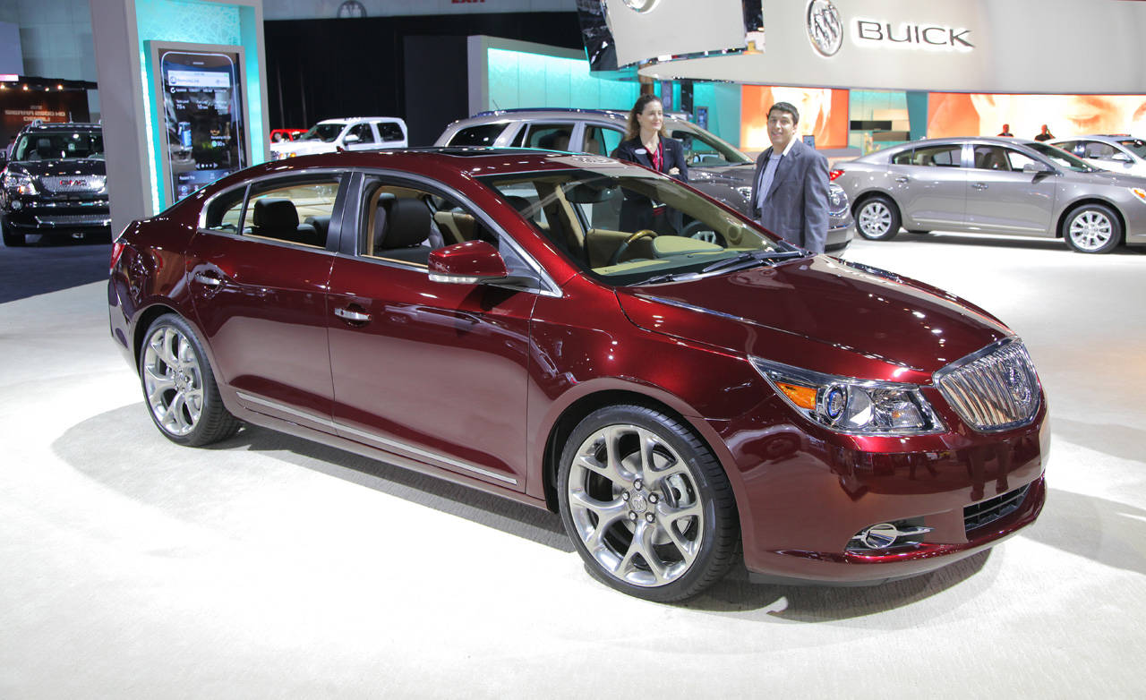 2017 Buick LaCrosse GL Concept photo - 4