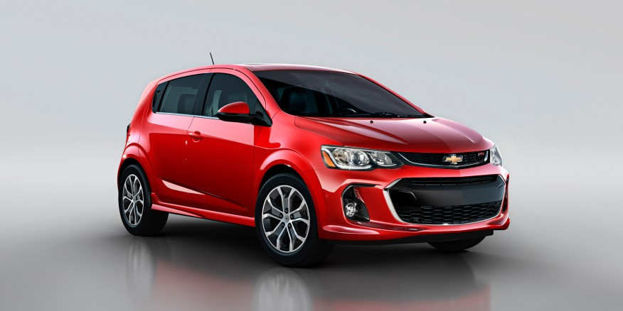 2017 Chevrolet Aveo RS Concept photo - 2
