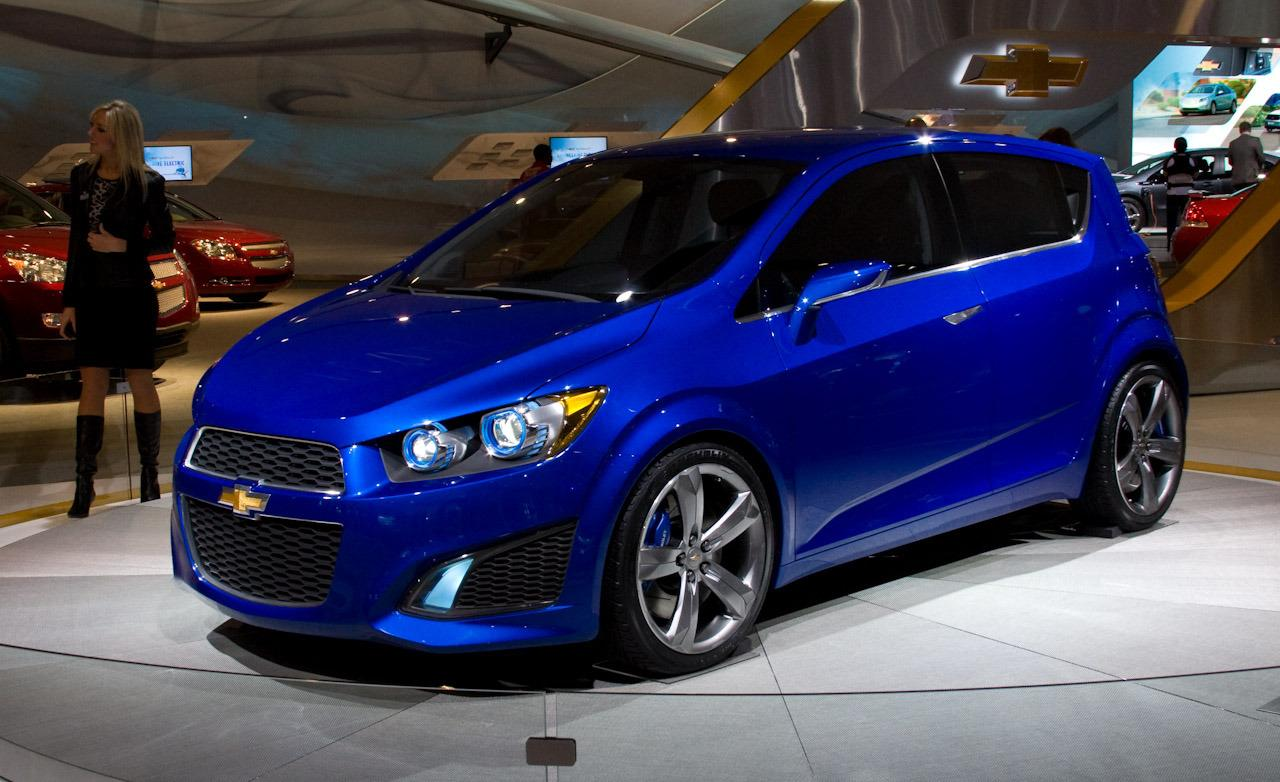 2017 Chevrolet Aveo RS Concept photo - 4