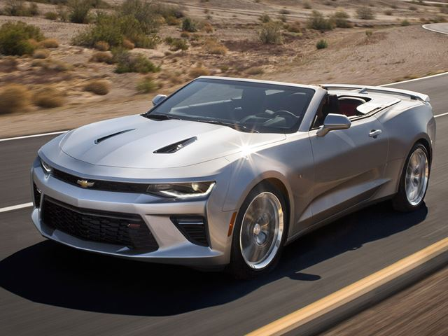 2017 Chevrolet Camaro Convertible photo - 2
