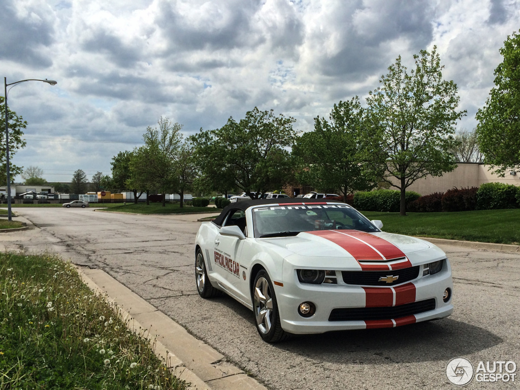2017 Chevrolet Camaro SS Convertible Indy 500 Pace Car photo - 2