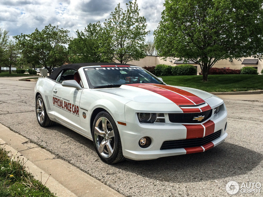 2017 Chevrolet Camaro SS Convertible Indy 500 Pace Car photo - 3