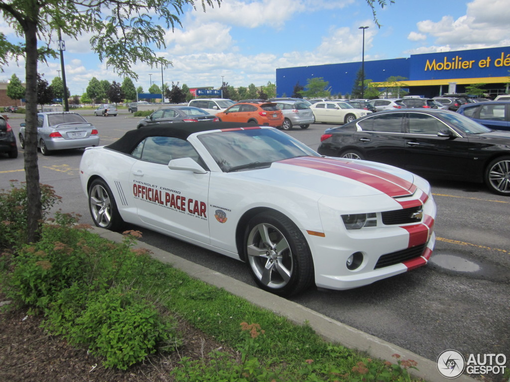 2017 Chevrolet Camaro SS Indy 500 Pace Car photo - 2