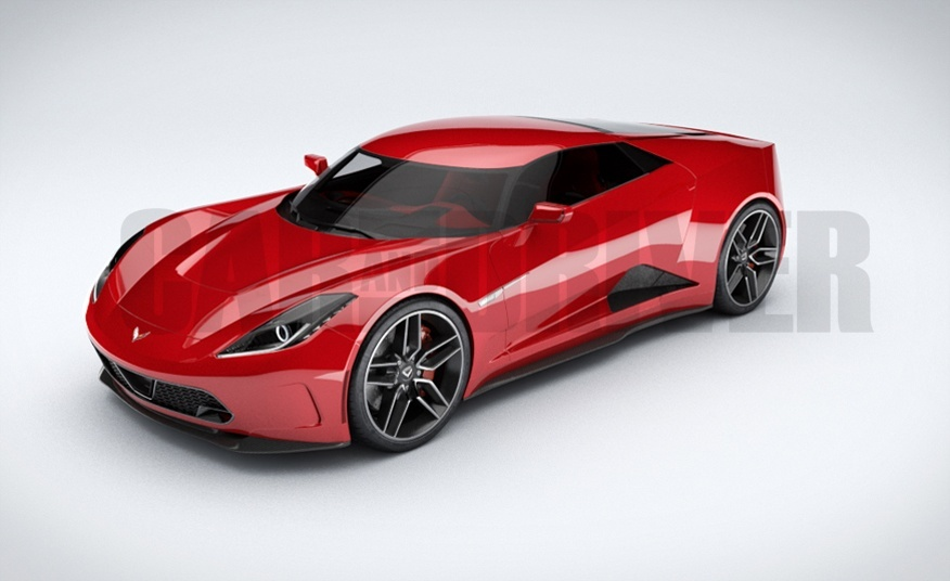 2017 Chevrolet Corvette Indy Concept Car photo - 4