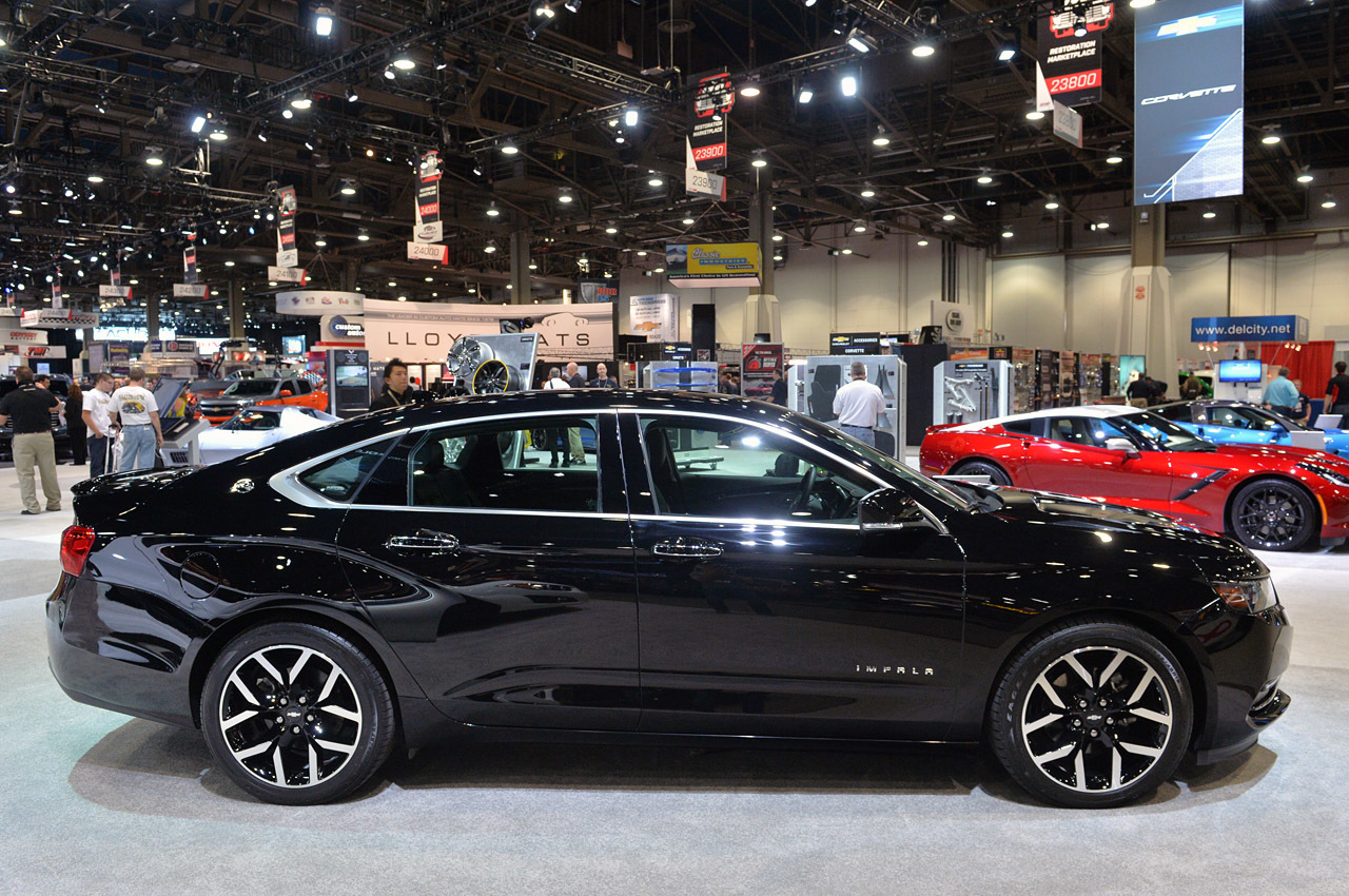 2017 Chevrolet Impala Police Package photo - 2
