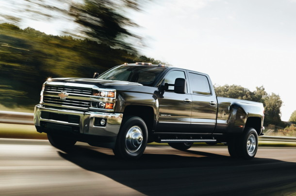 2017 Chevrolet Silverado 3500 HD LTZ Crew Cab photo - 1