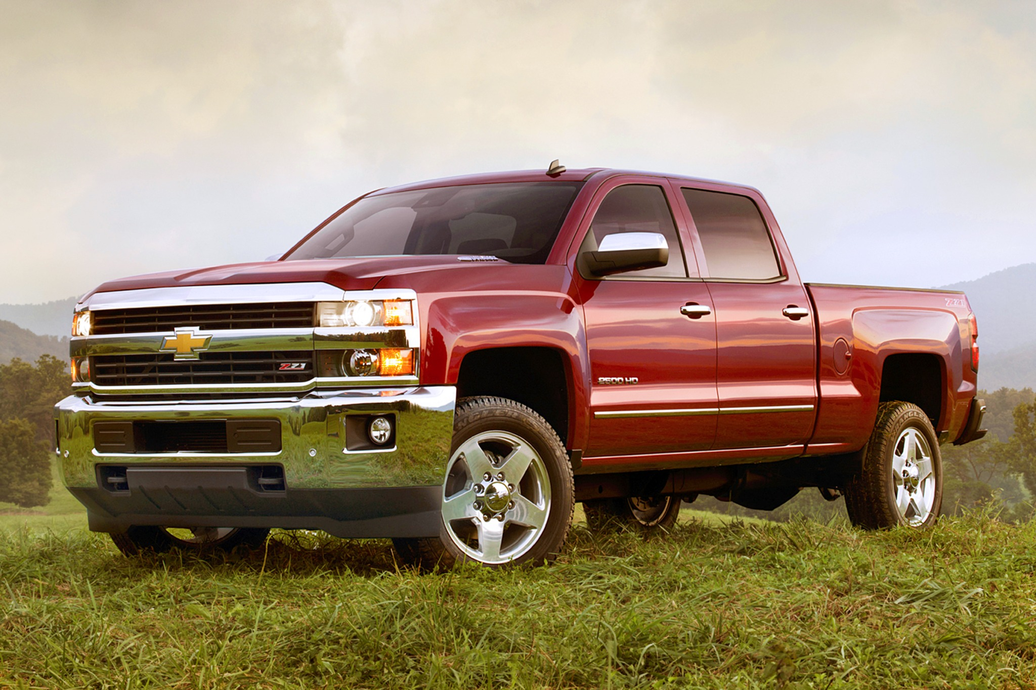 2017 Chevrolet Silverado 3500 HD LTZ Crew Cab photo - 3
