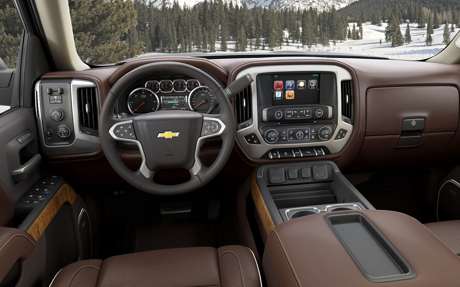2017 Chevrolet Silverado High Country HD photo - 2