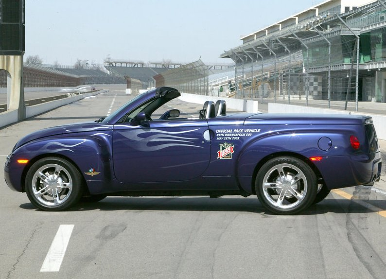 2017 Chevrolet SSR Indy 500 Pace Vehicle photo - 2