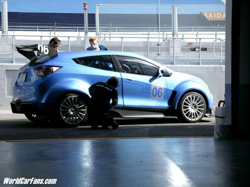 2017 Chevrolet WTCC Ultra Concept photo - 4