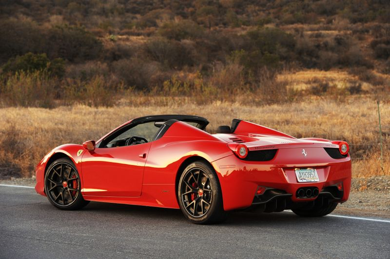 2017 Ferrari 458 Spider photo - 3