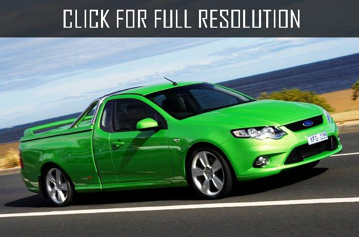 2017 Ford BF Falcon XR8 Ute photo - 2