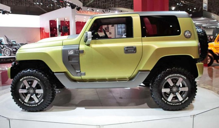 2017 Ford Bronco Concept photo - 1