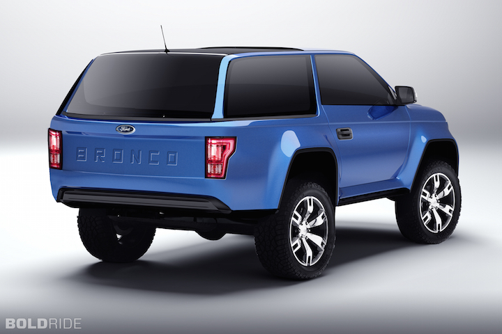 2017 Ford Bronco Concept photo - 3