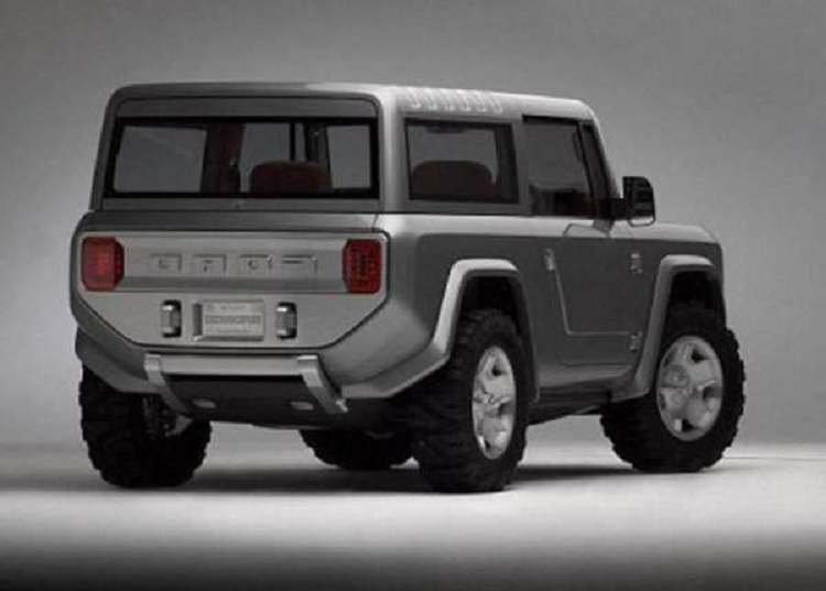 2017 Ford Bronco Concept photo - 4