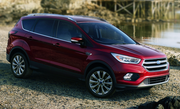 2017 Ford Kuga UK Version photo - 1