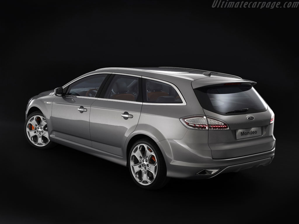 2017 Ford Mondeo Wagon Concept photo - 2