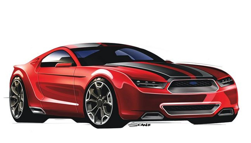 2017 Ford Mustang Mach III photo - 1