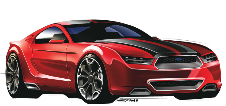 2017 Ford Mustang Roadster Concept Car photo - 1
