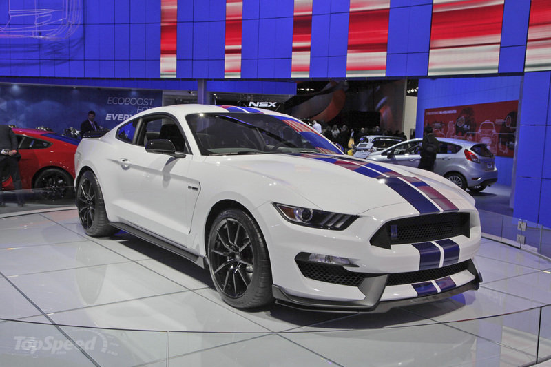 2017 Ford Mustang Shelby GT 350H photo - 1