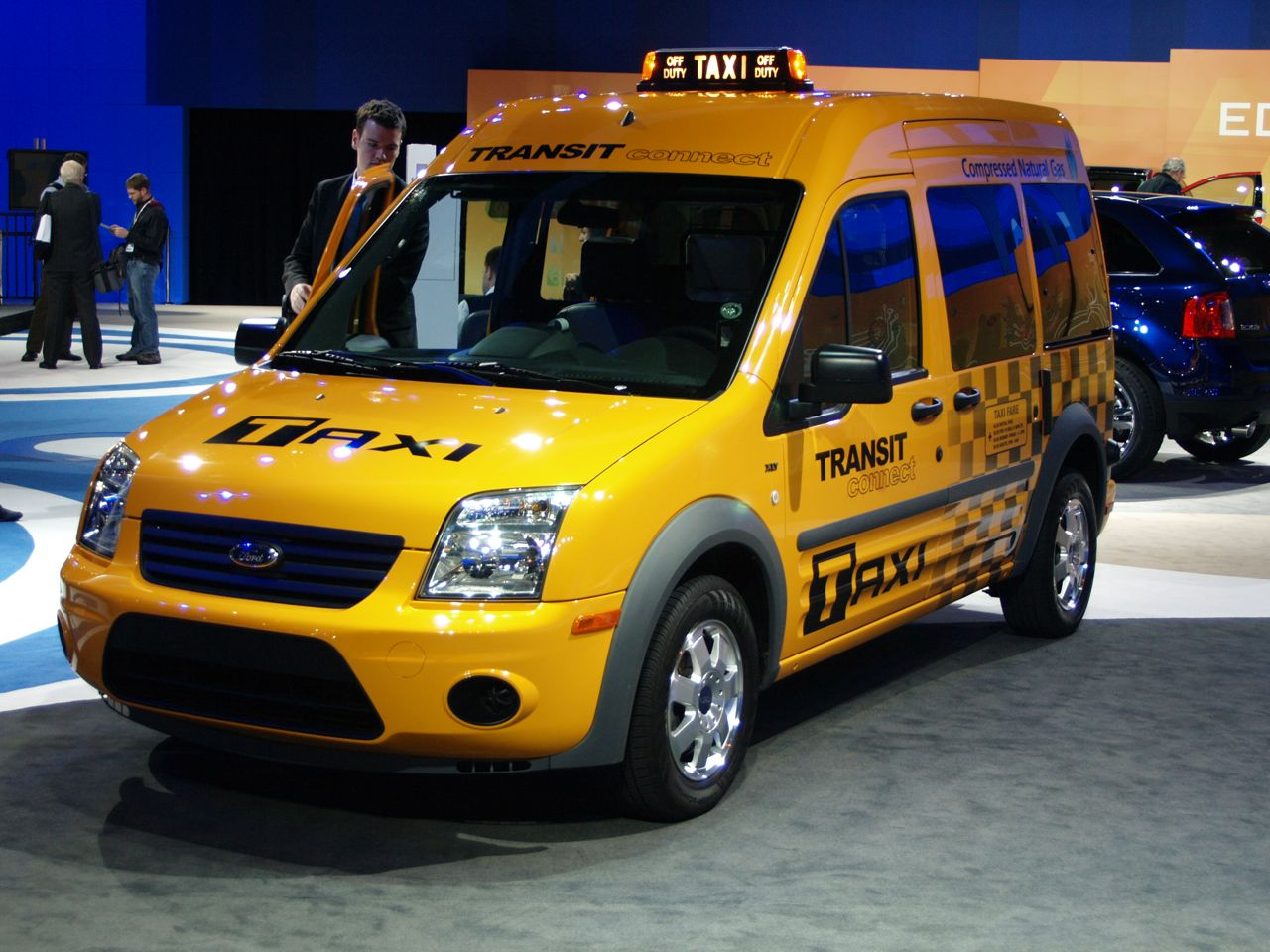 2017 Ford Transit Connect Taxi photo - 1