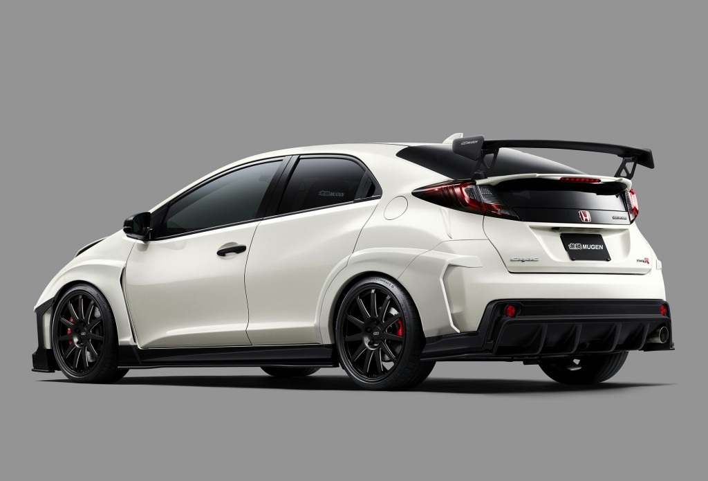 The latest 2017 Honda Civic Type R Mugen 2.2 refresh brings forth a ...