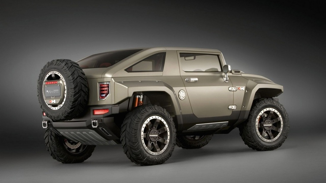 2017 Hummer H2 SUV Concept photo - 4
