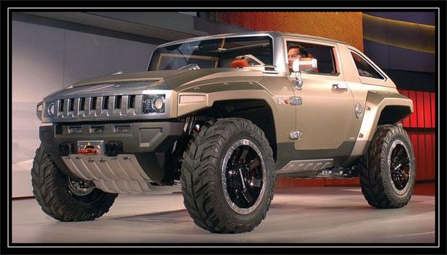 2017 Hummer H3R Off Road Concept photo - 2
