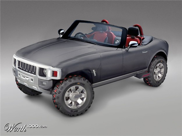 2017 Hummer H3R Off Road Concept photo - 4