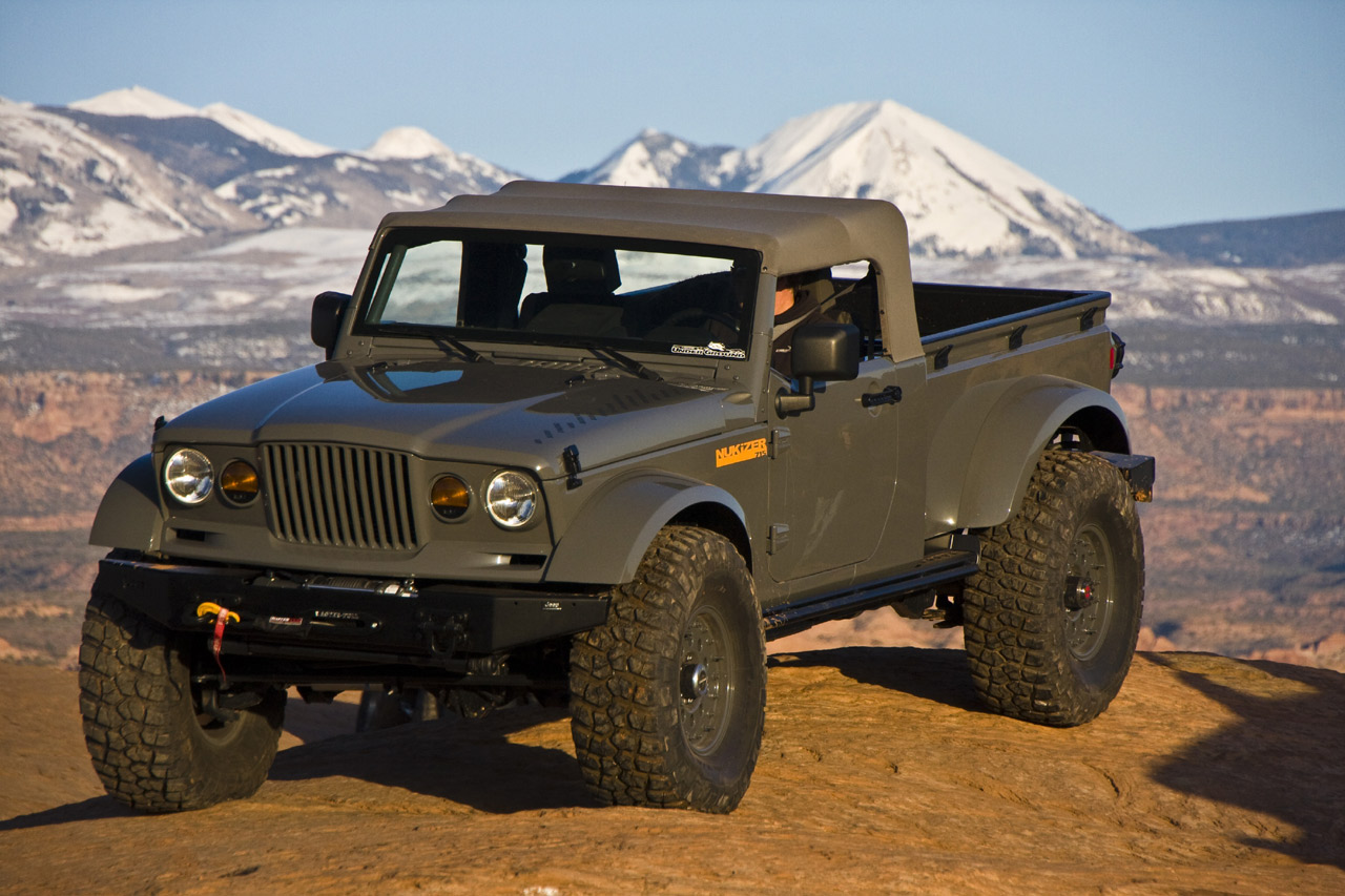 2017 Jeep Gladiator Concept photo - 2
