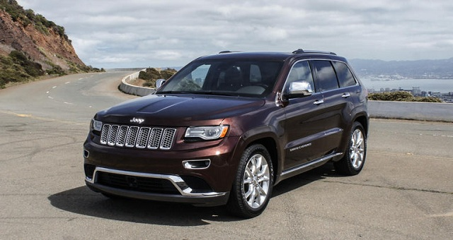 2017 Jeep Grand Cherokee Concept photo - 4