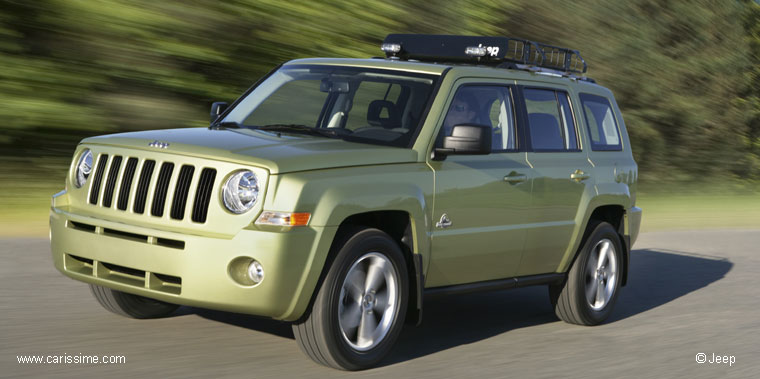 2017 Jeep Patriot Back Country Concept photo - 3